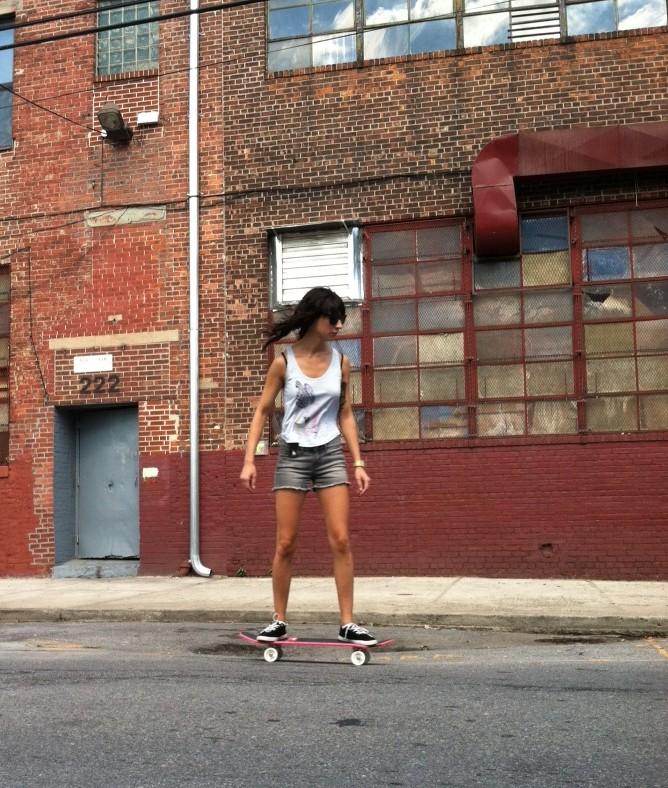 Me skating image