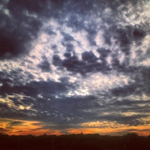 Fort Tilden sunset image