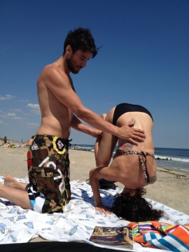 Headstand image