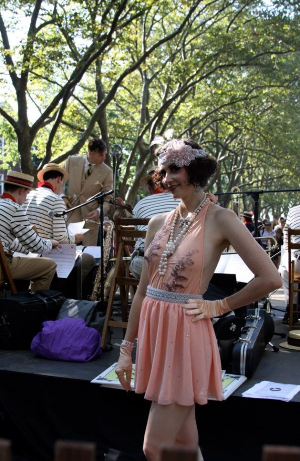 Flapper girl at Jazz Age Lawn Party image