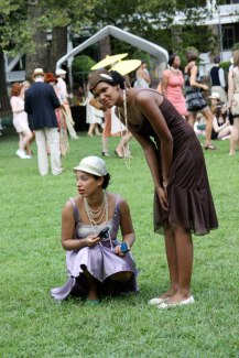 Two beautiful ladies at Jazz Age Lawn Party image