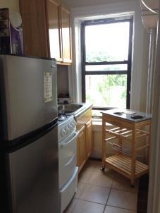 My tiny new kitchen.